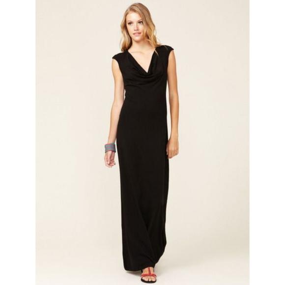 ... Soft Jersey Cowl Maxi Dress  a8cbd4fd6